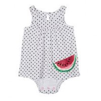 George baby Girls' Fooler Dress Bodysuit 12-18 months