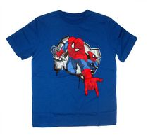 Marvel Spiderman Boy's short sleeve crew neck t-shirt 6X