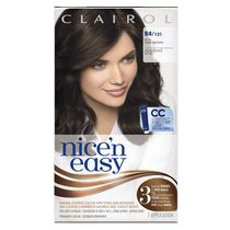 Clairol Nice'n Easy Hair Colour, 1 Kit Rich Dark Brown