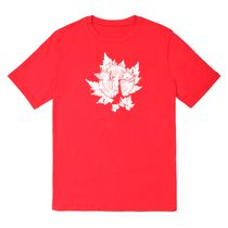 Athletic Works Mens Canada Tee Red L