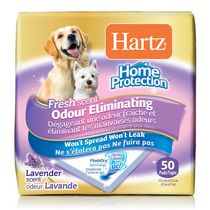 Hartz Home Protection Odour Eliminating Dog Pads 50ct