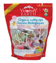 Yummy Earth Organic Fruit Lollipops, Family Pack