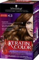 Colorant capillaire anti-âge Keratin Color de Schwarzkopf Velvet Brown
