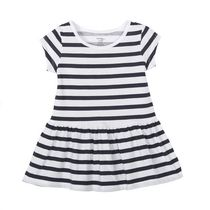 George baby Girls' Dropped Waist Dress Navy 0-3 months