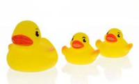 Vital Baby Play 'n' Splash Family Duck Shaped Baby Bath Toys
