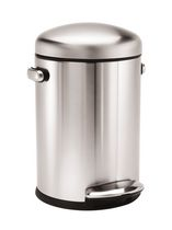 simplehuman Studio 4.5 L Round Step Trash Can