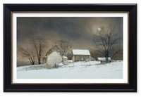 Canadiana Art New Moon by Ray Hendershot Wall Art