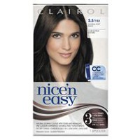 Coloration maison Clairol Nice'n Easy, 1 trousse Soft Black