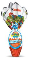 Kinder Surprise Maxi Easter Milk Chocolate with Milky Lining Surprise Toy