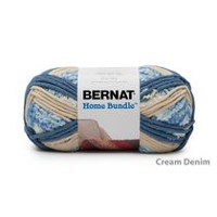 Bernat Home Bundle Yarn Cream/Denim