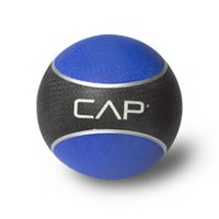 Cap Barbell Rubber Medicine Ball, 6 lbs