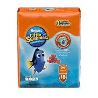 Huggies Little Swimmers maillots de bain jetables M