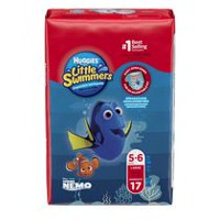 Huggies Little Swimmers maillots de bain jetables G