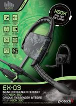 EX-03 Inline Messenger Headset for Xbox 360