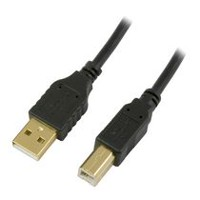 Purtek 12 ft USB 2.0 Printer Cable