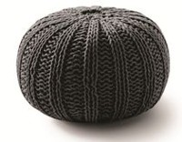 hometrends Pouf Black