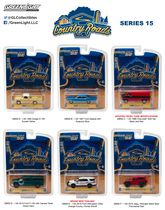 GreenLight Country Roads 1:64 Scale Die-Cast Vehicles