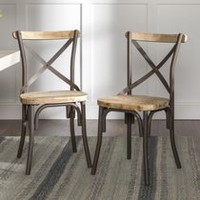 Walker Edison Reclaimed Dining Chair