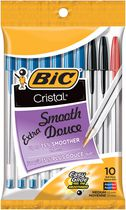 BIC® Cristal Pens Assorted 10 Pack