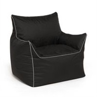 Chaise lounge Valley de hometrends Noir