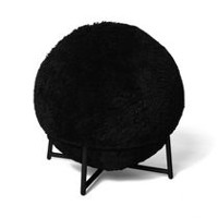 hometrends Yoga Ball Chair Black