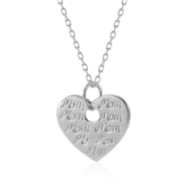 Sterling Silver Mother's Day Pendant