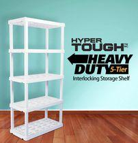 HYPER TOUGH Heavy Duty 5-Tier Interlocking Shelf