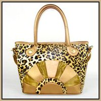 Cool Runners Canvas Leopard Faux Leather Pet Carrier