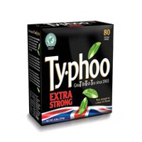 Thé Typhoo extra fort