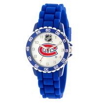 NHL Montreal Canadiens Silicone Strap Analog Watch