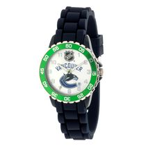 NHL Vancouver Canucks Silicone Strap Analog Watch
