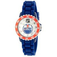 NHL Edmonton Oilers Silicone Strap Analog Watch