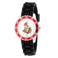 NHL Ottawa Senators Silicone Strap Analog Watch