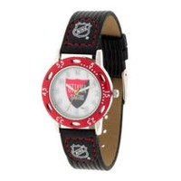 Youth NHL Ottawa Senators Black Ribbed Strap Analog Watch