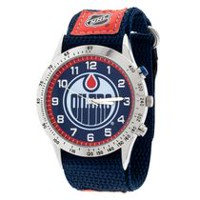 NHL Edmonton Oilers Fastwrap Strap Analog Watch