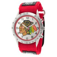 NHL Chicago Blackhawks Fastwrap Strap Analog Watch