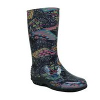 Weather Spirits Girls' 67 Fall Y17 Rain Boots 13