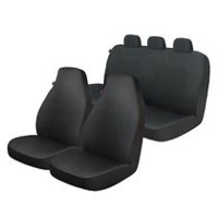Who-Rae Rogers Seat Cover Kit - Black