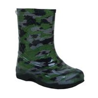 Weather Spirits Toddler Boys' 77 LightsB Y17 Rain Boots 7