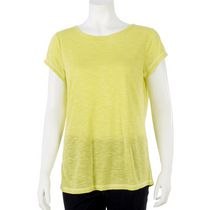 Athletic Works Women's Fashion Tee Yellow XS/TP