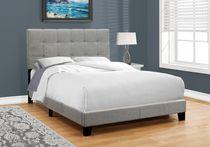 Monarch Specialties Inc Monarch Specialties Grey Bed Frame