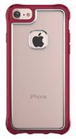 Ballistic Jewel Essence Case for iPhone 7 Clear/Burgundy