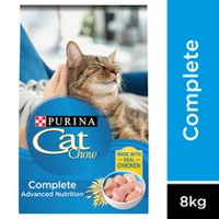 Purina® Cat Chow® Advanced Nutrition for All Cats Cat Food  4kg Bag 8kg