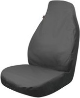 Who-Rae Dickies Trader  Seat Cover - Gray