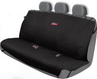 Who-Rae Dickies Rear Trader Seat Cover - Black