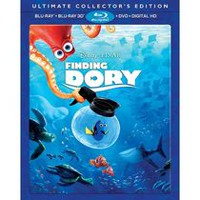 Finding Dory (Ultimate Collector's Edition) (Blu-ray 3D + Blu-ray + DVD + Digital HD)