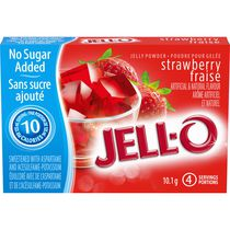 JELL-O Jelly Powder Light Strawberry