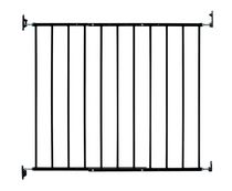 KidCo Safeway® Hardware Mount Top of Stairs Safety Gate Black