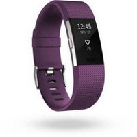 Fitbit Charge 2 Black Silver Small Activity Tracker Plum Large