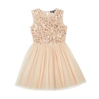 George Girls' Sequined Bodice Dress 5